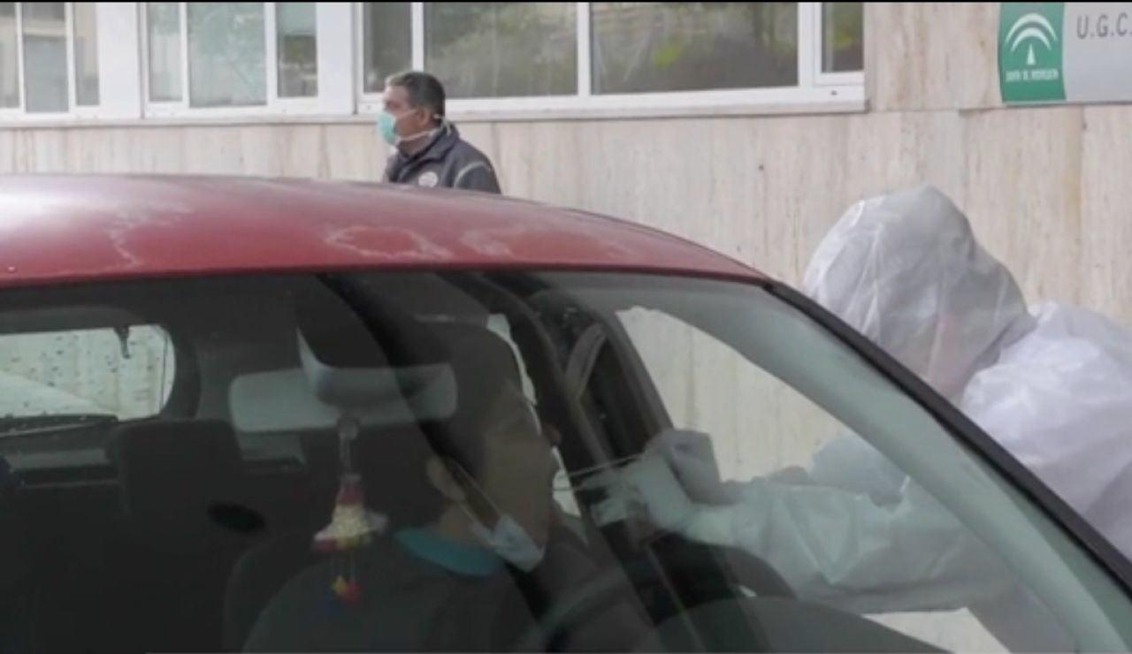 Test rápido en un hospital andaluz