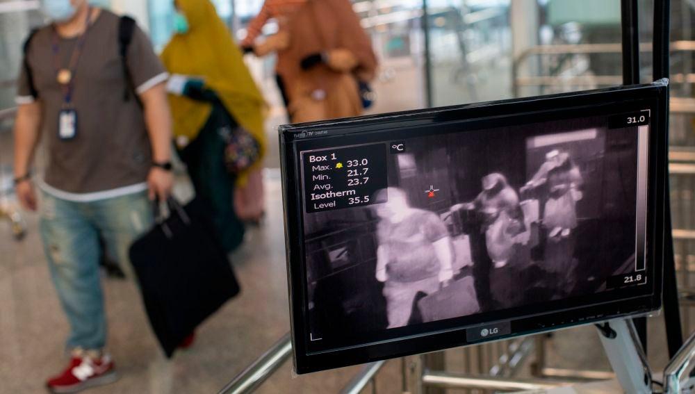 Un aeropuerto de Hong Kong