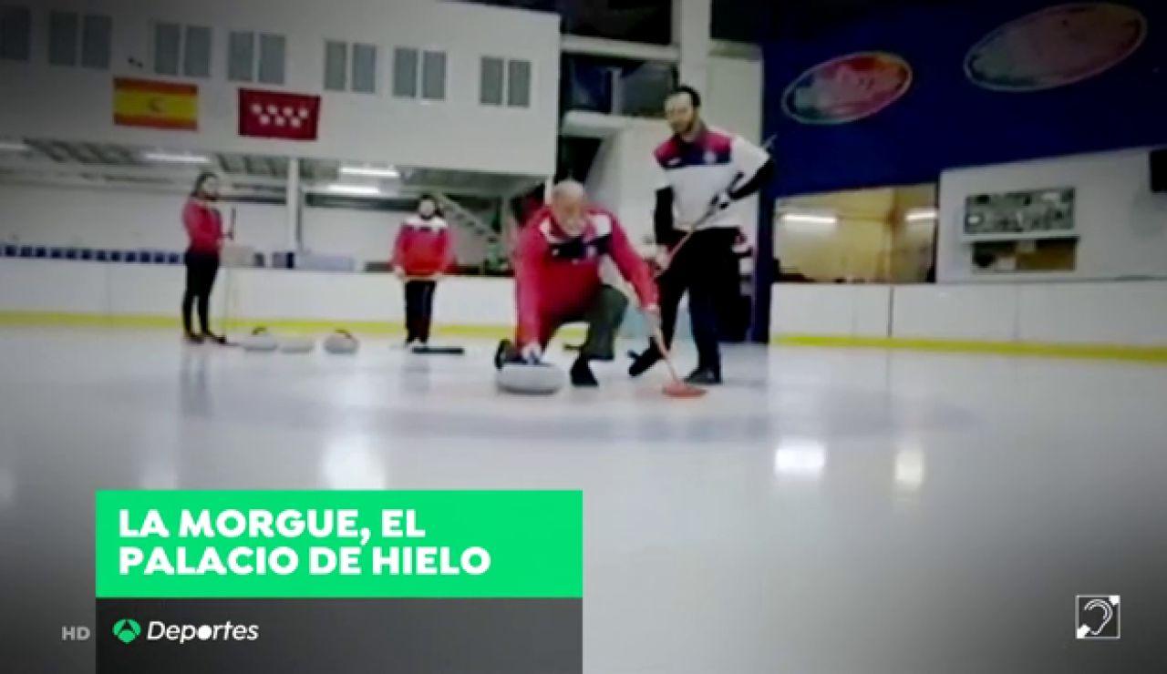 """La morgue de Madrid, el Palacio de Hielo de Hortaleza: """"Es el Bernabéu o el Camp Nou del curling en España"""""""