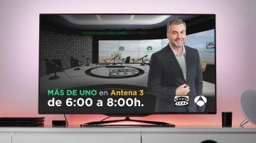 Carlos Alsina en Antena 3 Noticias