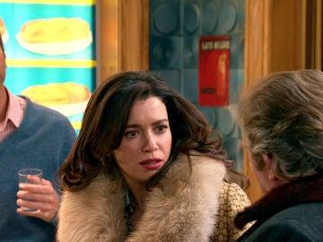 Amelia, en shock tras la torpe confesión de Marcelino y Sebas
