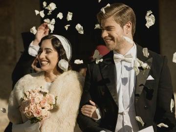 Rosa y Adolfo sellan su amor eterno ante Puente Viejo