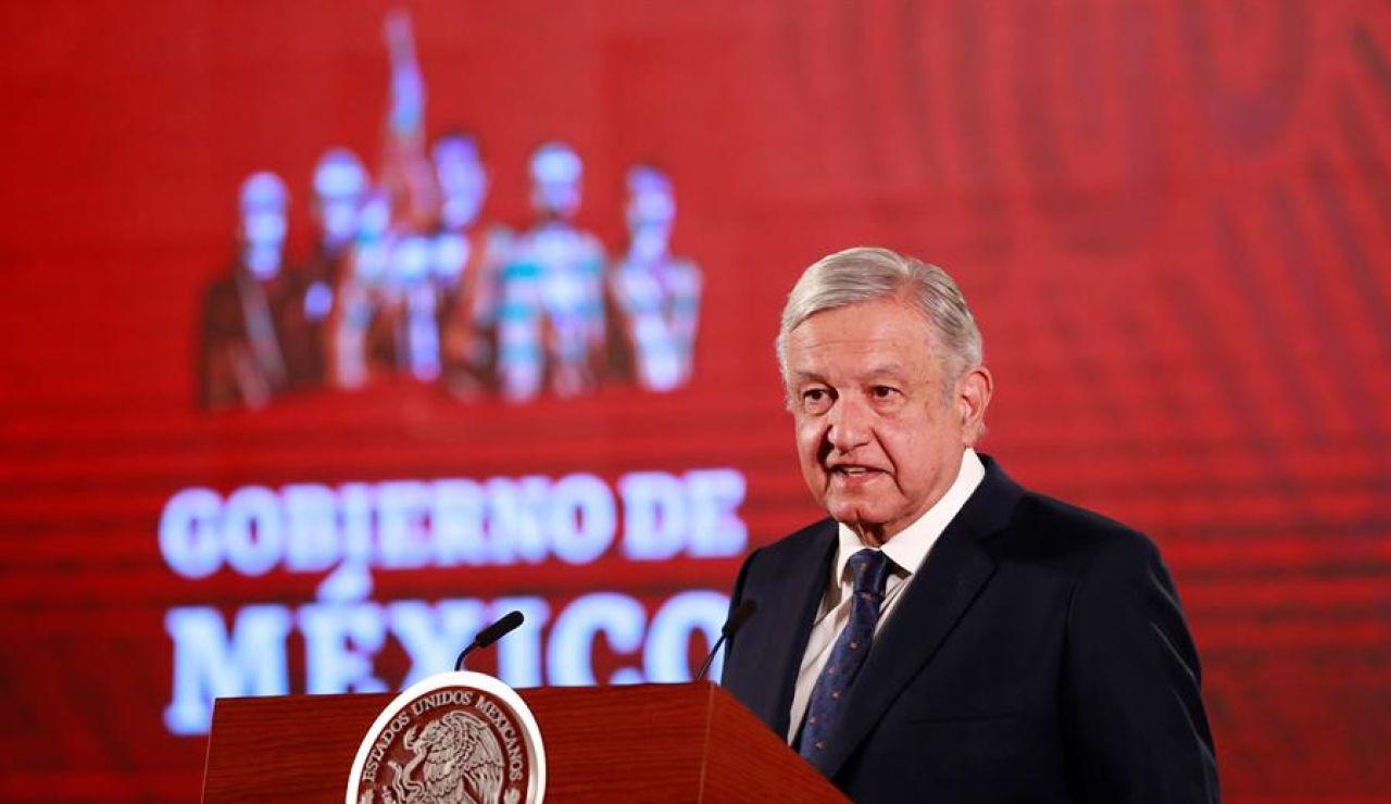 El presidente de México, Andrés Manuel López Obrador,