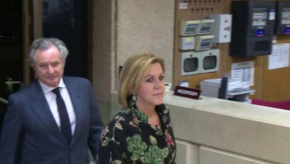 María Dolores de Cospedal, última incorporación a la larga lista de políticos afectados por el coronavirus