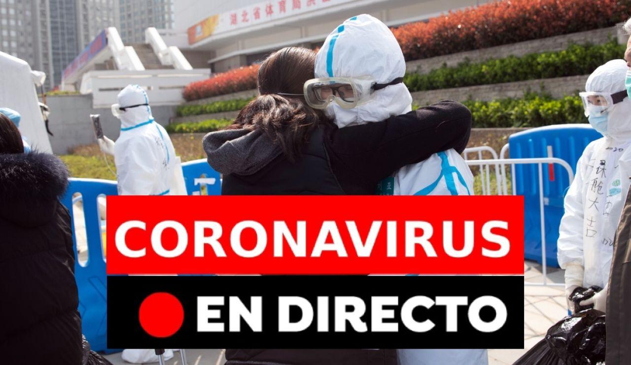 Coronavirus en directo: Última hora de los nuevos casos infectados por COVID-19