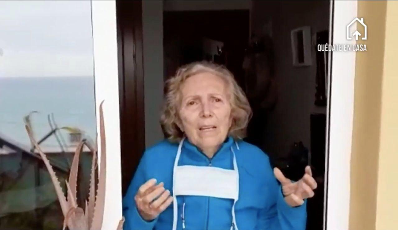 Encarna, la mujer de 82 años que ha superado el coronavirus