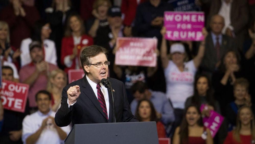 Dan Patrick, gobernador de Texas