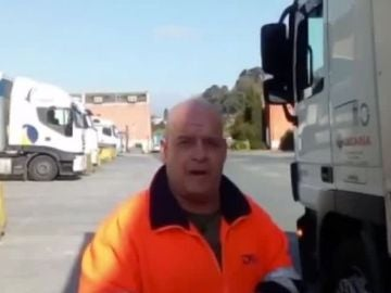 Un transportista en la crisis del coronavirus