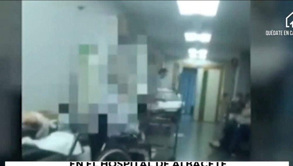 Situación límite en el hospital de Albacete