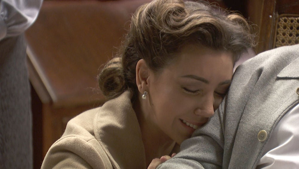 El emotivo y doloroso reencuentro de Emilia Ulloa con su padre