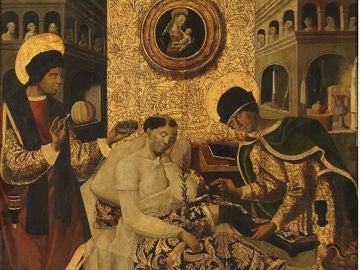 """""""Milagros de San Cosme y San Damian"""" - Museo del Prado"""