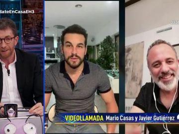 Revive la entrevista completa de Mario Casas y Javier Gutiérrez en 'El Hormiguero 3.0: quédate en casa'