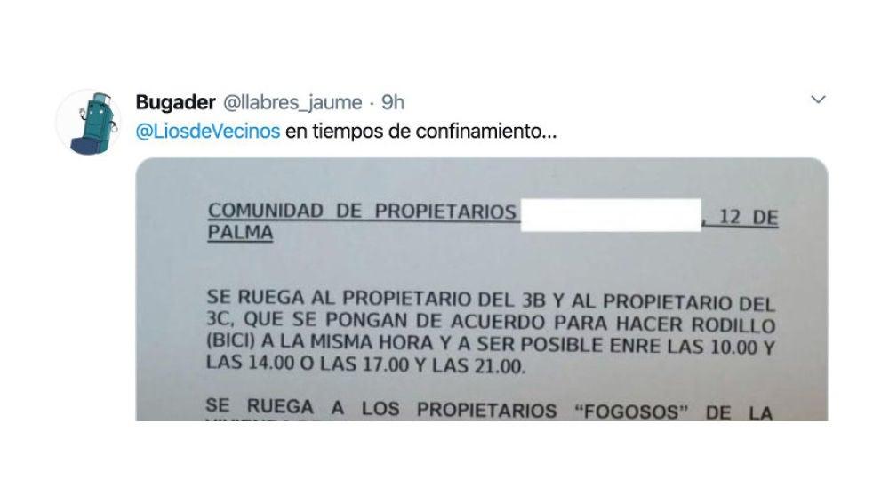 Tuit de @llabres_jaume