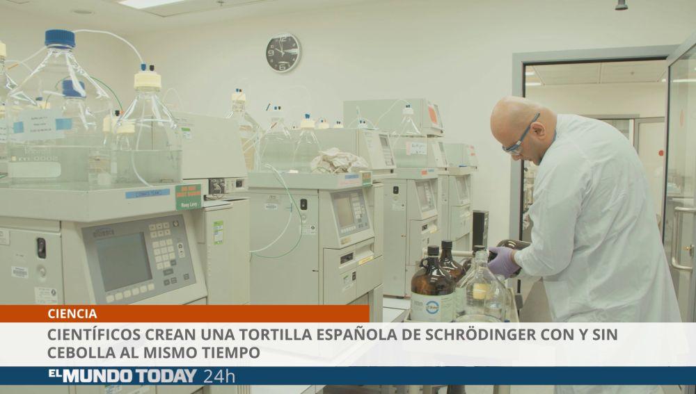 Crean la tortilla de Schrödinger