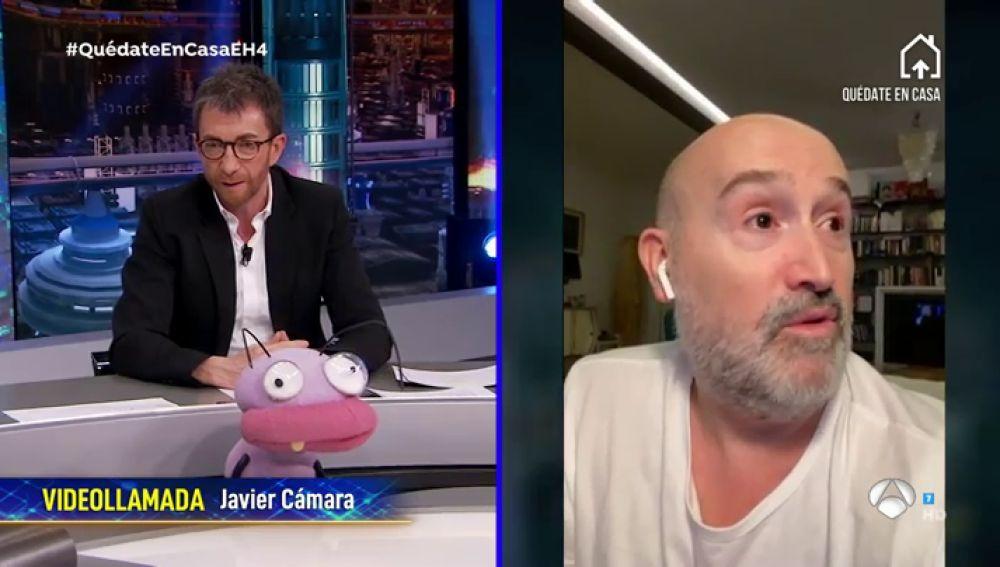 """Javier Cámara se hunde al pensar en el aislamiento por el coronavirus: """"Hay gente que lo está pasando muy mal"""""""