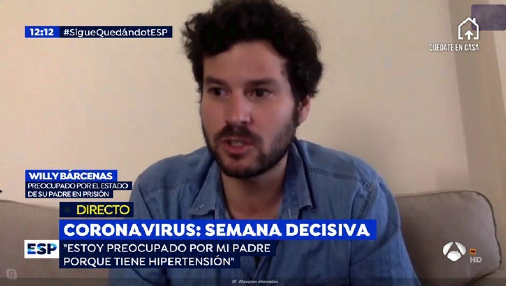 Hijo de Luis Bárcenas.