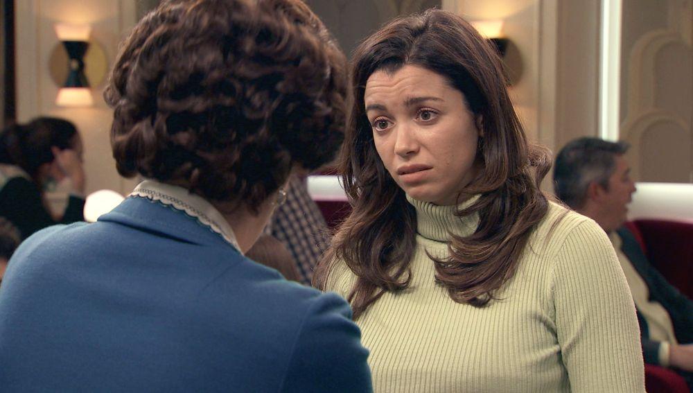 Amelia, destrozada pide ayuda a Benigna