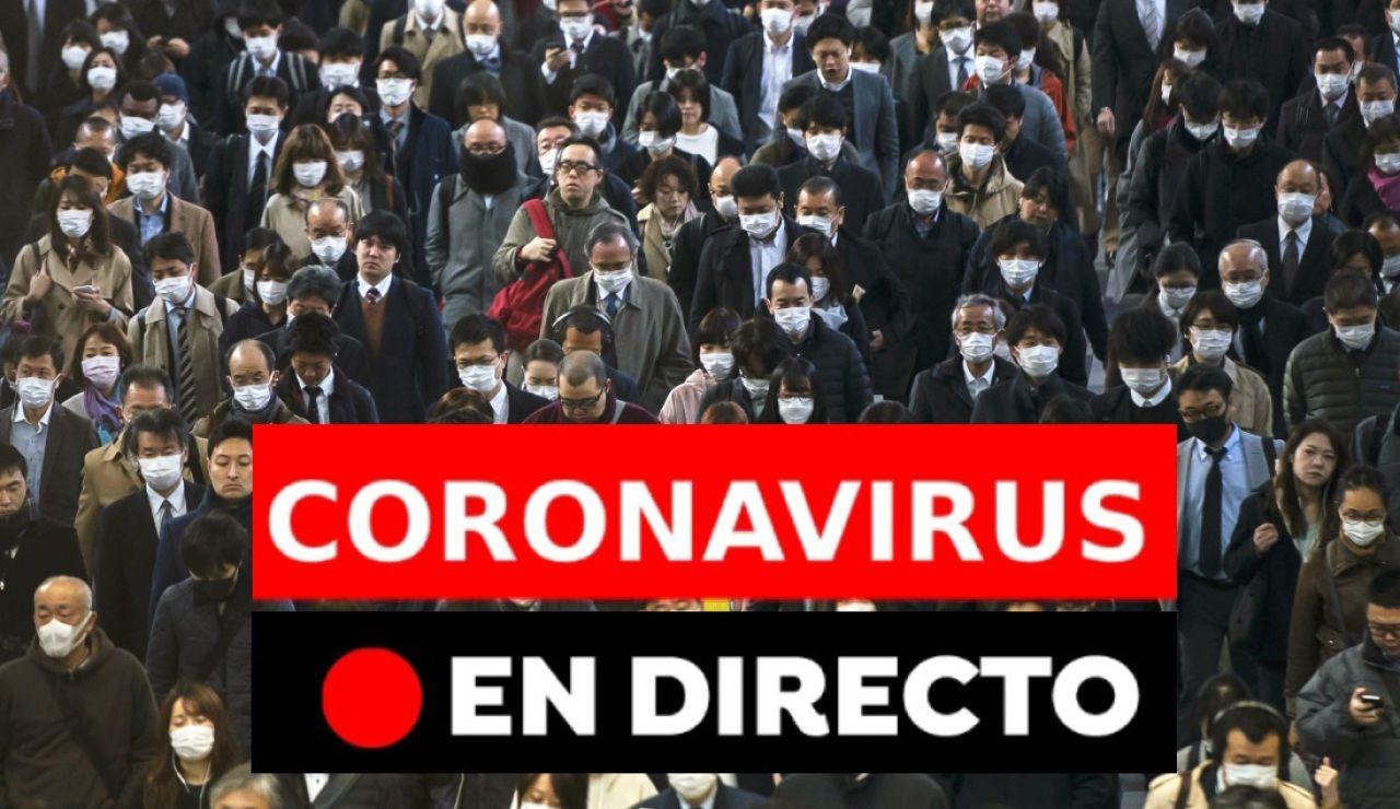 Coronavirus España: Última hora y cifras de contagios hoy, en directo