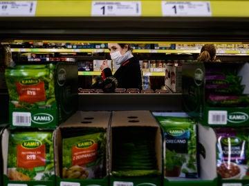 Mercadona: Imagen de archivo de un supermercado