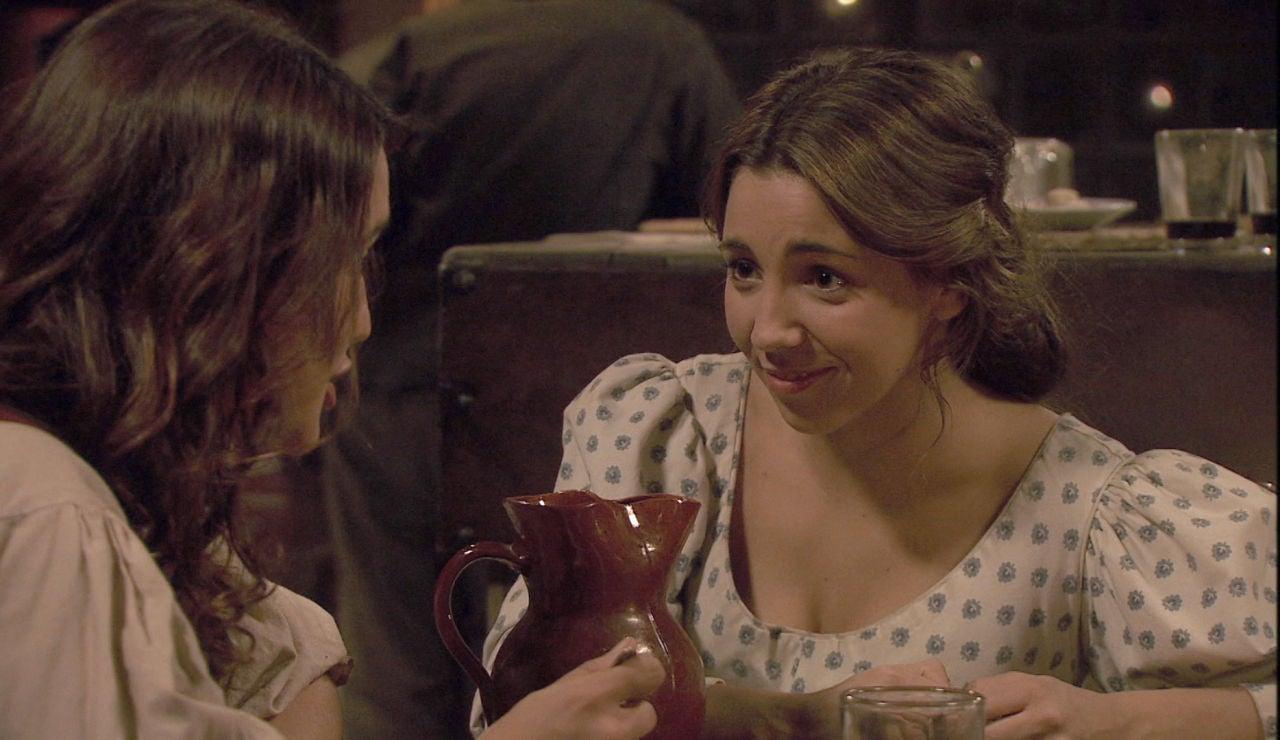 Los inicios de la relación entre Pepa y Emilia, una amistad eterna