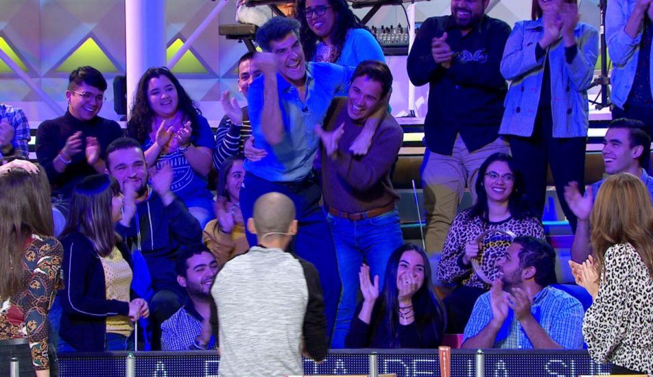 El público de 'La ruleta de la suerte', el más divertido de toda la televisión