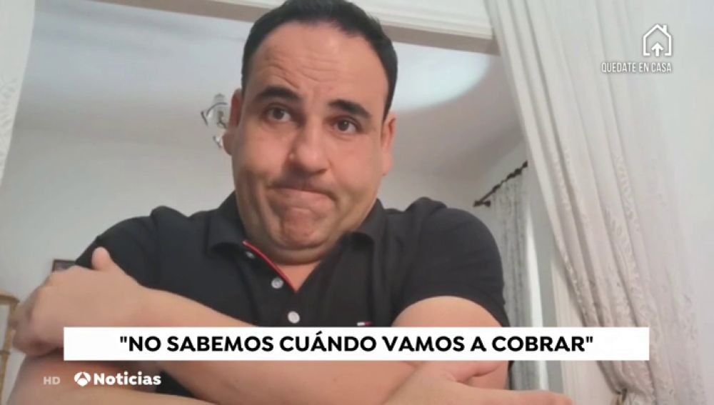 """Miles de españoles, pendientes de la nómina en la crisis del coronavirus: """"No sabemos cuándo vamos a cobrar"""""""