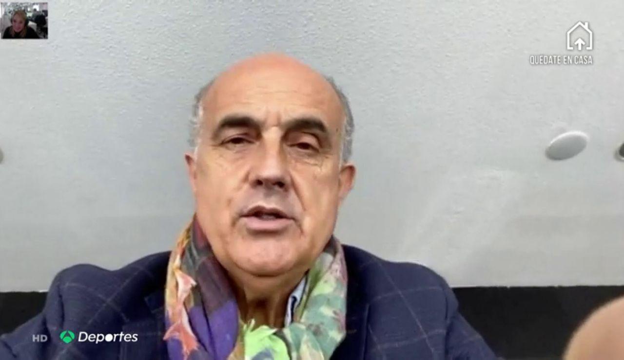 """Antonio Zapatero, excampeón de tenis y jefe del hospital de Ifema: """"El partido ante el coronavirus lo vamos a ganar"""""""