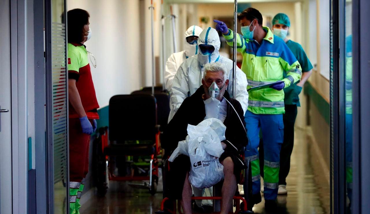 Los servicios de urgencias en el hospital Infanta Leonor, en Madrid