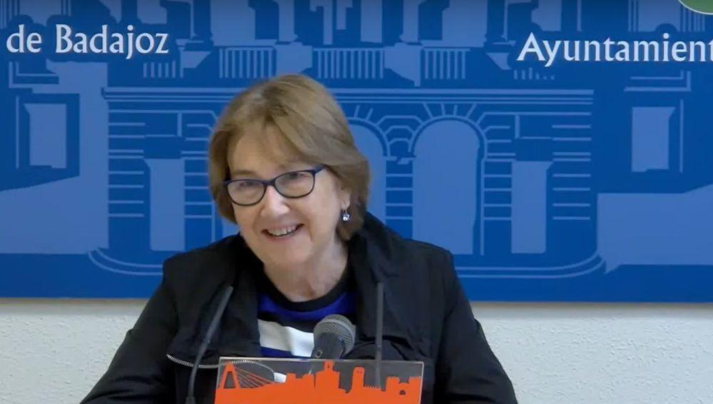 La concejal Rita Ortega