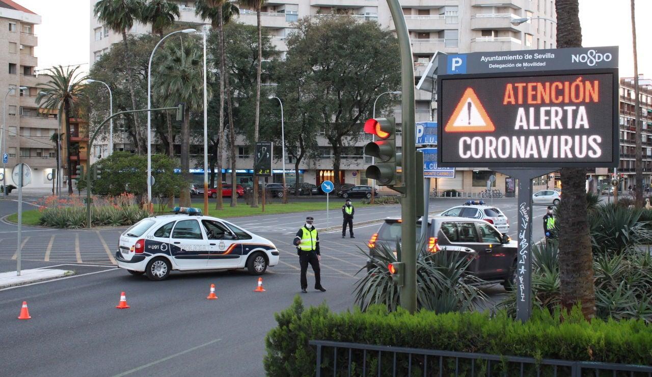 Control de vigilancia en Sevilla