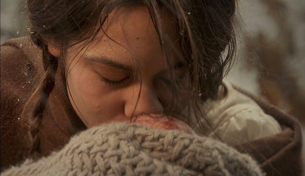 El emotivo parto de Pepa Balmes en soledad que terminaría en tragedia