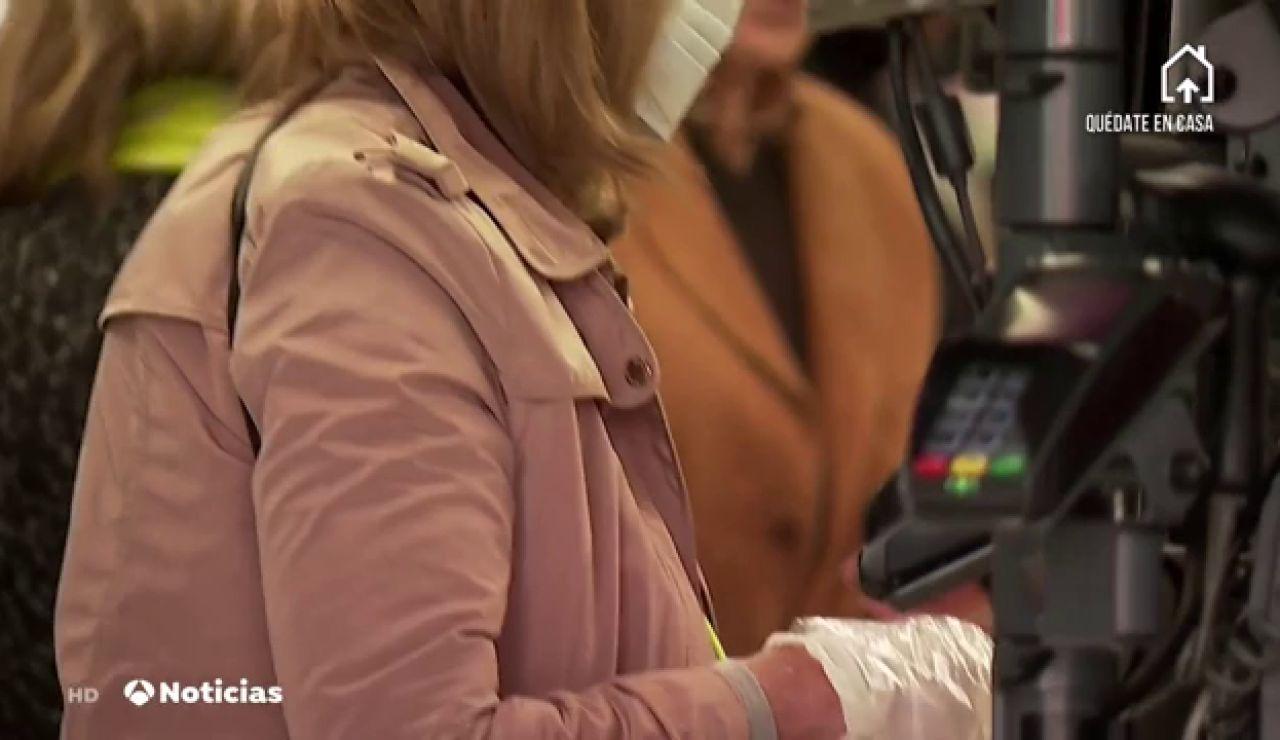 Los bancos elevan el límite de pago contactless a 50 euros mientras dure la crisis del coronavirus