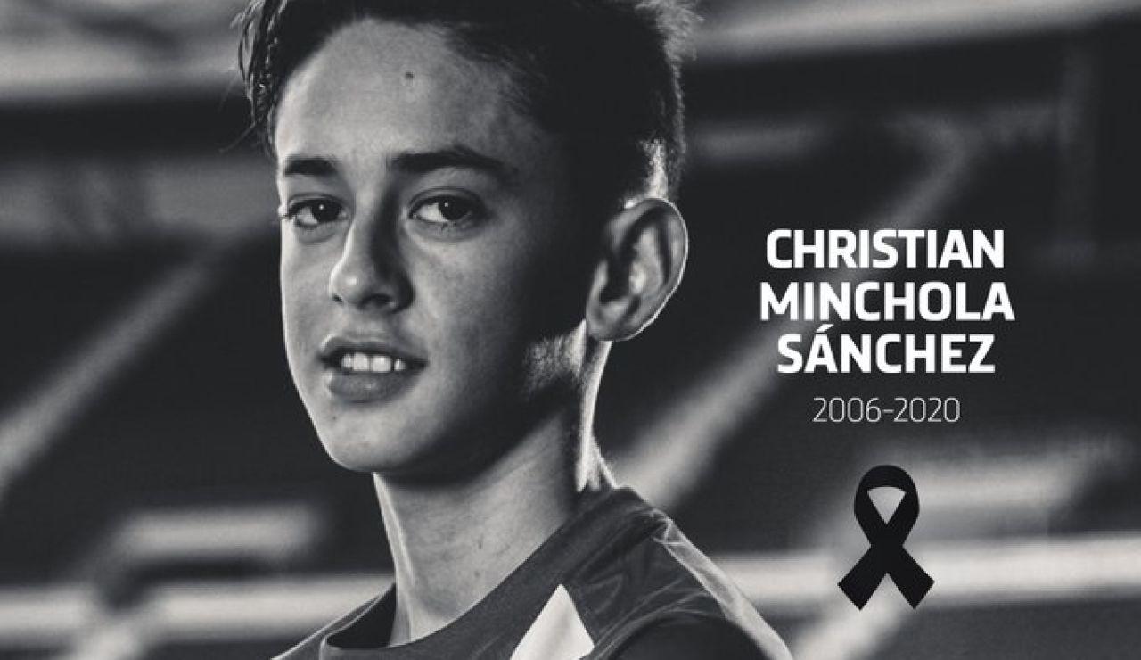 Muere Christian Minchola, canterano del Atlético de Madrid