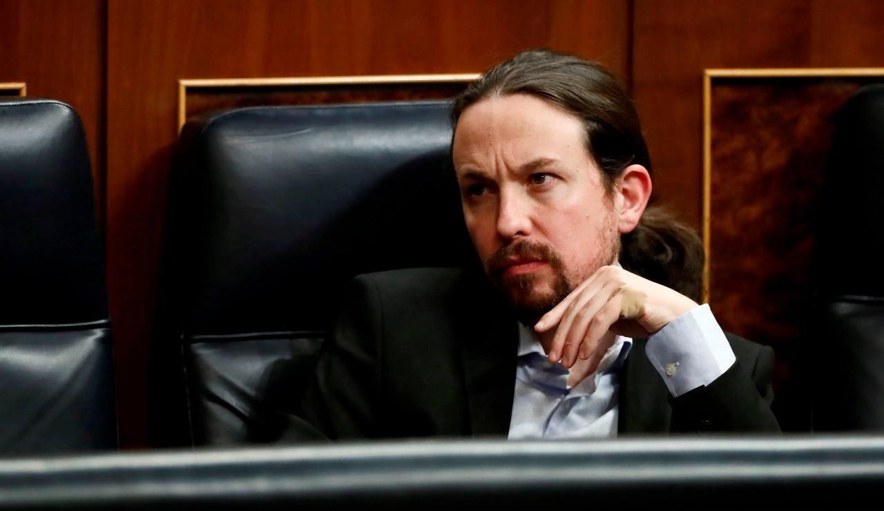 El vicepresidente de Derechos Sociales del Gobierno y líder de Podemos, Pablo Iglesias