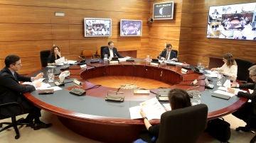 Imagen del Consejo de Ministros Extraordinario celebrado este domingo