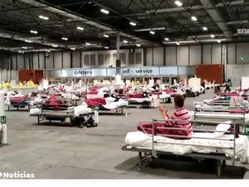 Madrid paga a Ifema 2,9 millones de euros por usarse como hospital de campaña
