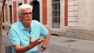 Chato Galante, durante una entrevista