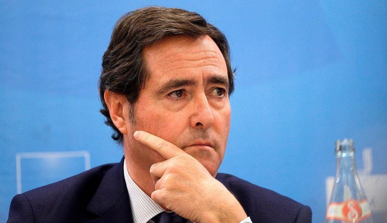 Antonio Garamendi, presidente de la CEOE