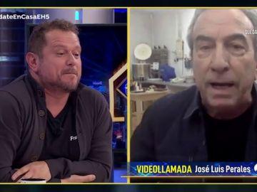 La llamada de atención de José Luis Perales a El Monaguillo sobre su imitación