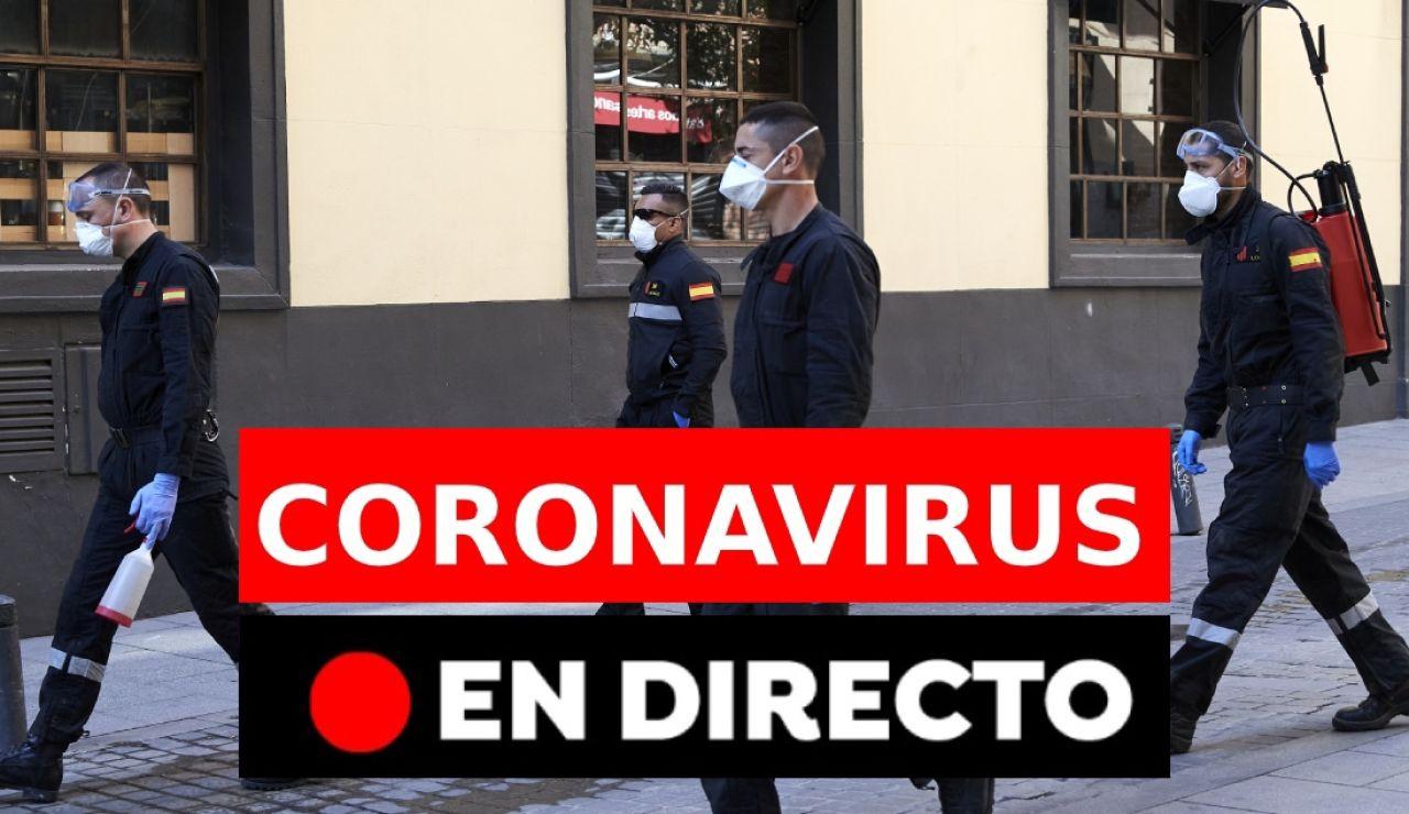 Coronavirus España: Noticias de última hora del covid-19 hoy, en directo