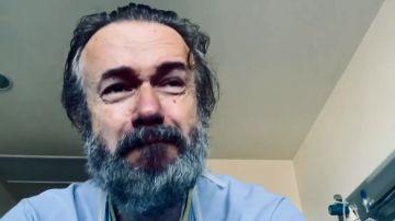 Tristán Ulloa comparte un mensaje desde el hospital