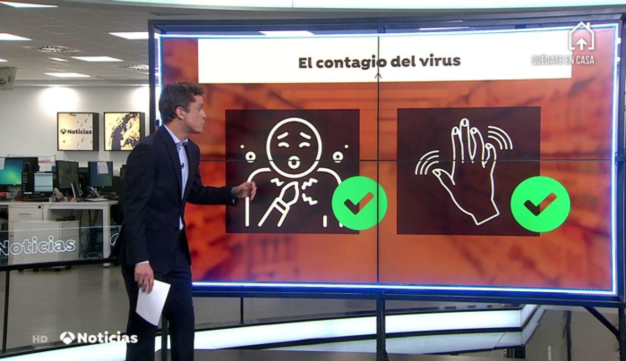 La OMS señala que el coronavirus no se contagia por el aire