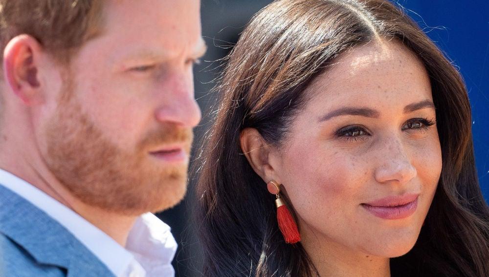 Megan Markle y el príncipe Harry
