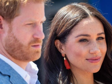 Megan Markle y el príncipe Harry