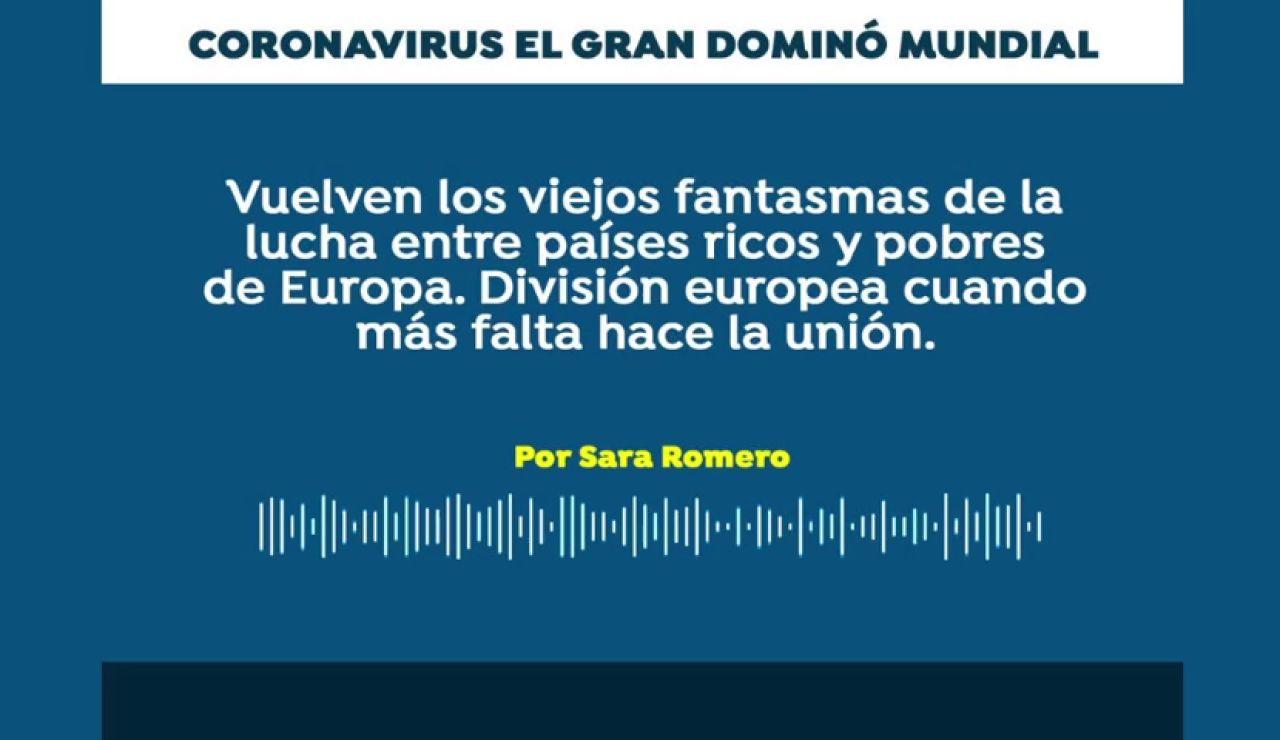 Podcast: Coronavirus, el gran dominó mundial
