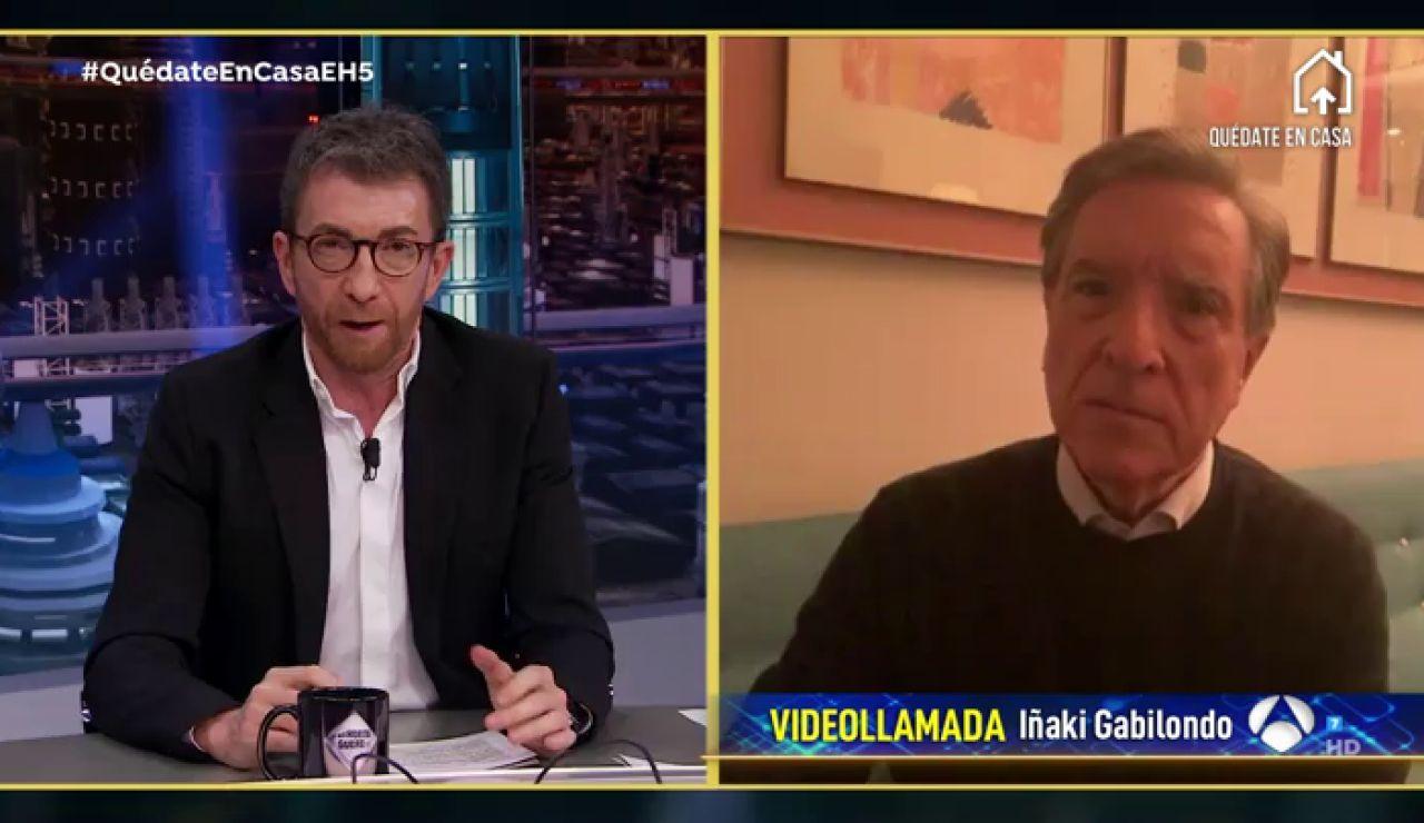 """La confesión de Iñaki Gabilondo: """"Me parecería muy 'facilón' estar criticando a los Gobiernos"""""""