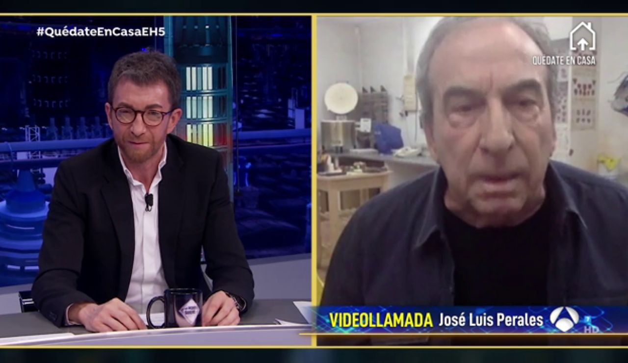 José Luis Perales revela su ritual para estar en calma