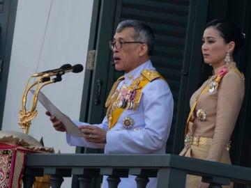 El rey de Tailandia Maha Vajiralongkorn