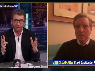 Iñaki Gabilondo valora en 'El Hormiguero 3.0' cómo está crisis nos va a cambiar la forma de ver el mundo