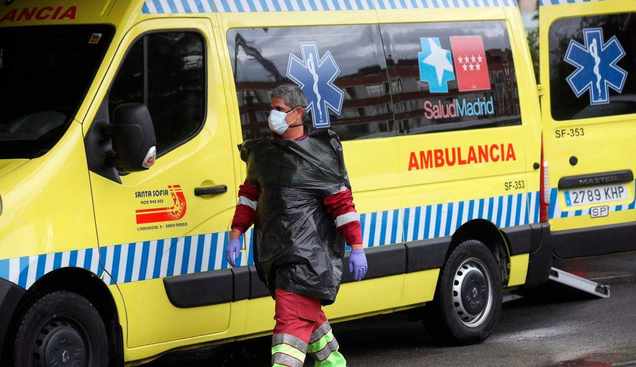 Los servicios de urgencias a las puertas del Hospital General Universitario Gregorio Marañón en Madrid